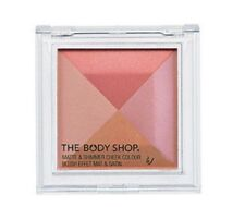 The Body Shop Matte & Shimmer Cheek Colour 01 Blush Effet Mat & Satin  New