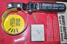 """Lisle 57010 Swivel Gripper - No Slip Oil Filter Wrench - Import SM:2.375- 2.625"""""""