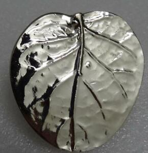 Michael Aram Large Silver-Tone Botanical Leaf Cabinet Knob 210435 Lot of 8
