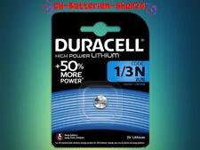 4 x Duracell High Power Lithium 1/3N 2L76 CR1 3N CR11108 Neu Blister Batterien