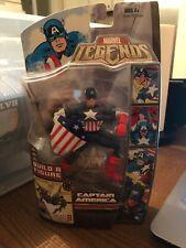 Captain America Hasbro 2007 Marvel Legends Queen Brood Series Figure Unopened