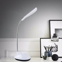 Mini LED Desk Table Reading Lamp Light Eye-Protection Battery Powered Healthy