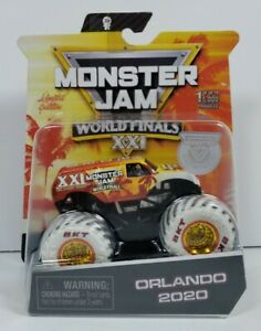 Spin Master Monster Jam 2020 World Finals XXI Orlando Exclusive Monster Truck