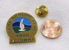 Lawn Bowling Club 1909 Kelowna Ball Pin Lapel Pin Pinback