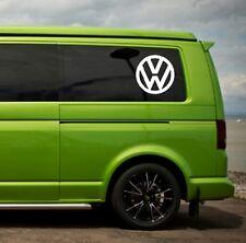 vw Volkswagen camper t4 t5 side panel / window vw vinyl  sticker decals x2