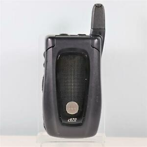 Unlocked Motorola i670 (Nextel) Cell Phone - iDen Direct talk iConnect