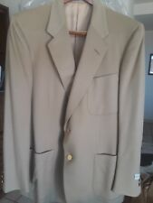 Mens D'Avenza Taupe Wool Jacket New With Tags 44R