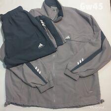 "Adidas Vintage 01 Womens Tracksuit Tennis Sports 2 Piece Size L P-P 24"" W 28-34"""