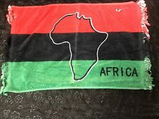 Africa Flag  Face / Hand Towel Cultural