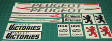 Peugeot Speedfight 2 Rally Victories decals sticker graphics rally 125 50