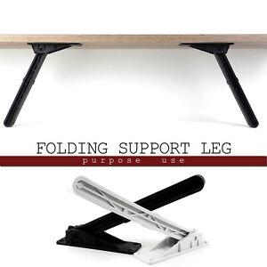 "Foldable Folding Leg Heavy Duty Furniture Table Bench Stool Support Bracket 9"""