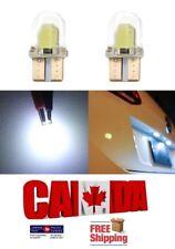 2pcs White LED T10 194 168 COB CAR CANBUS ERROR FREE Silica Silicone Light Bulbs
