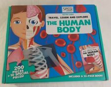Travel Learn and Explore The Human Body 210 Piece Jigsaw Puzzle Sassi Science