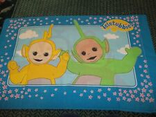 Set of 2 Vintage Disney Teletubbies Cartoon Character Pillow Cases (Fabric)