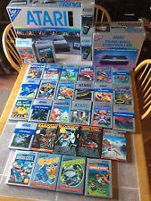 HUGE Rare Pacman Edition Atari 5200 Console Bundle W/ 30 Games 29 Boxed + More!