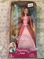 Disney Sparkling Ariel Doll Little Mermaid New in Box