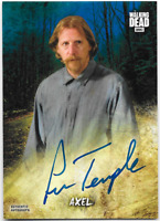 Walking Dead Road to Alexandria Auto Autograph Card Lew Temple Alex AC-LT BLUE