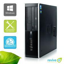 HP Elite 8200 SFF PC Desktop Core i5-2400 3.1GHz 8GB 250GB Win 7 Pro 1 Yr Wty