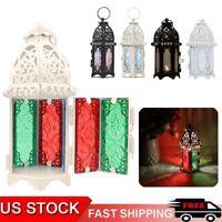 Moroccan Lantern Tea Light Lamp Candle Holder Hanging Home Garden Wedding Decor