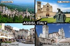 SOUVENIR FRIDGE MAGNET of ASSISI UMBRIA ITALY