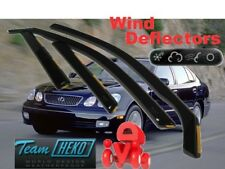 LEXUS GS 300 II 1998 - 2005  4.doors  Wind deflectors  4.pc  HEKO  30002