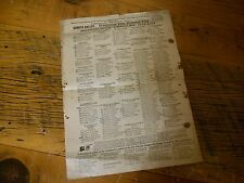Vintage Cook County IL 1912 Sample Republican Primary Ballot Wm. Taft President