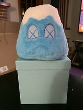 "KAWS HOLIDAY JAPAN Mount Fuji Plush 8"" Blue  Limited / Rare / Sold Out"