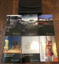 2016 MERCEDES BENZ C300 C400 Owners Manual C-Class Owner's Manual C63 AMG