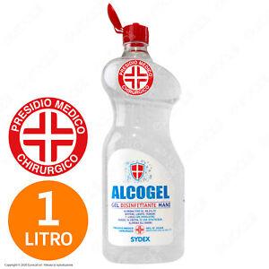 Gel Mani Professionale Igiene Alcool Presidio Medico Chirurgico 1 Litro