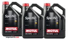 Aceite Motor Motul Specific BMW LL-04 5W40, Pack 15 litros