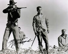 "OFFICIAL WEBSITE Morgan Woodward ""Cool Hand Luke"" (1967) 8x10 AUTOGRAPHED"