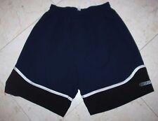 Men's Converse All-Star Polyester Athletic Shorts Blue/Black - Medium