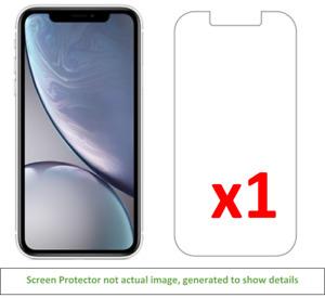 1x iPhone XR Anti-Scratch Screen Protector w/ cloth
