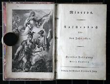 Minerva. Taschenbuch für das Jahr 1811. Leipzig. Fleischer. Mit 9 Kupfern.