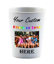 Personalized Shot Glass Dye Sublimation Groomsman Bridesmaids Custom Gift