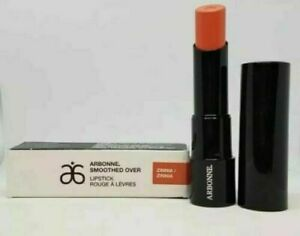 Arbonne Smoothed Over Lipstick, Zinnia Orange, Brand New Boxed Vegan Makeup