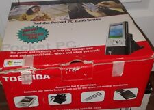 TOSHIBA POCKET PC e350 Excellent Condition with box docking station and pen