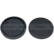 Camera body cap ✚ rear lens cover for Sony a900 a850 a750 Konica Minolta a5 a7D