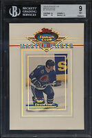 1993-94 Stadium Club Master Photo Steven Finn Mint BGS 9 w/ 9.5 Quebec Nordiques