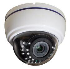 """Dome Kamera Überwachungskamera 1/3"""" CCD CHIP 700 TVL 2,8-12mm Objektiv IR"""