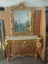 Consolle Classiche Con Specchiera.Consolle Foglia Oro In Vendita Ebay