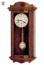 BilliB Medway Mechanical Wall Clock with Westminster Chime in Walnut
