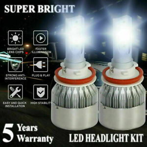 Car LED Headlight Kit H8 H9 H11 2100W 315000LM Low Beam Fog Bulb Fog Headlamp