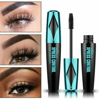 4D Waterproof Silk Fiber False Mascara Eyelash Extension Cosmetic Makeup