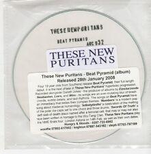 (GO700) These New Puritans, Beat Pyramid - 2008 DJ CD