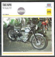 Fiche card Triumph 500 Trophy TR 5