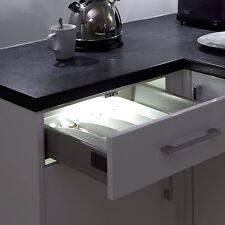 4 X Luz Led De Armario Cajón del gabinete-Extra Brillante-alimentado por batería