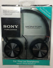 OEM Original Sony DR-ZX302VP Headset with In-Line Remote and Mic