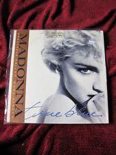 "Madonna TRUE BLUE Vinyl GOLD STAMP PROMO Record LP 12"" Single Dance Mix DJ Radio"