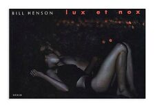 Bill Henson Lux Et Nox Signed Ltd Edition #48/60 2002 Scalo True 1st Ed.